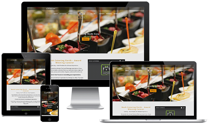 Nosh Catering Website